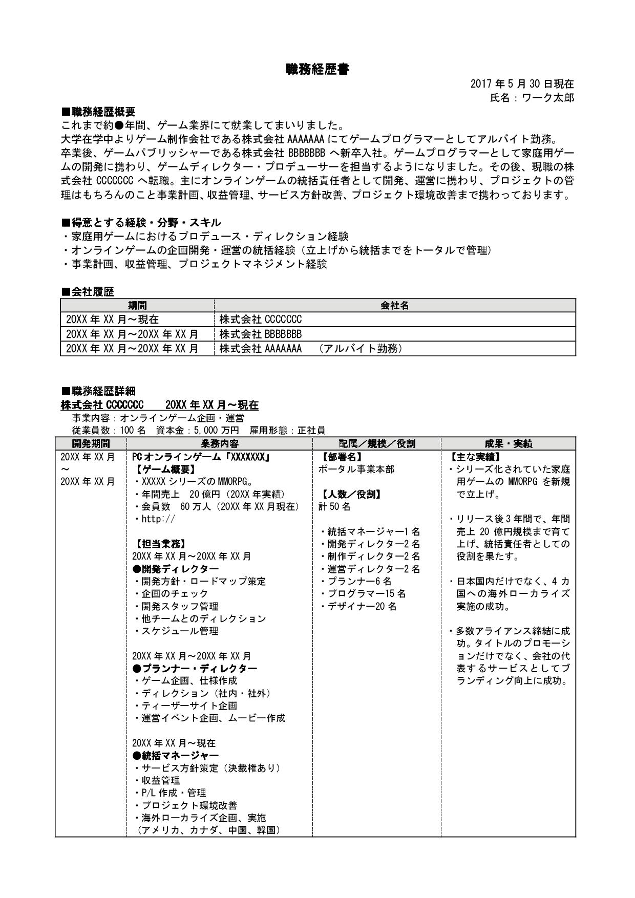 ゲームディレクター・プロデューサー